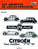 les Archives du collectionneur Citroën Traction Avant 7-11 et 15-Six (34/57) N  7