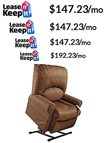 Mega Motion Easy Comfort Torch - Tall Lift Chair - Rust