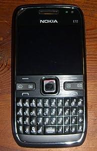 Nokia E72 Navi Smartphone (6 cm (2,3 Zoll) Display, Bluetooth,  5 Megapixel Kamera, QWERTZ-Tastatur) schwarz