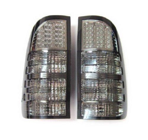 1 Pair Smoke Led Rear Tail Light Toyota Hilux Vigo Sr5 Mk6 05 06 07 08 09 10 11 12 13
