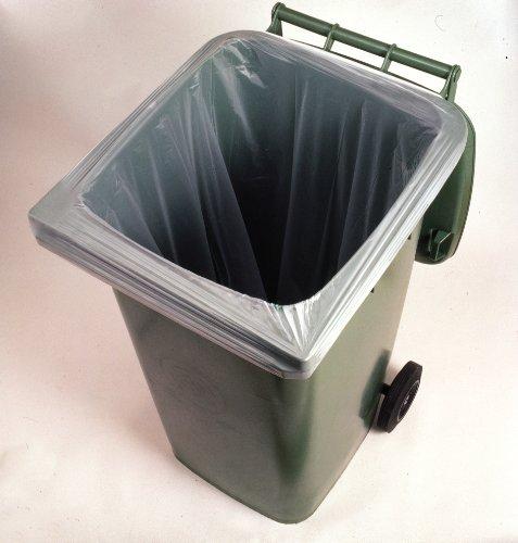 BioBag - Sacs Biodégradables insert selon la norme EN 13432 pour le bac à compost - 10 Pièces - 240 litres