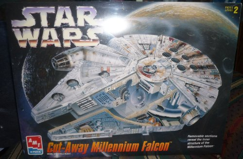 AMT Star Wars Cut-Away Millennium Falcon Model Kit (Star Wars Amt Model Kit compare prices)