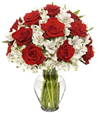Benchmark Bouquets Classic Roses and…