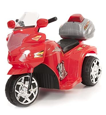 Xenta Red 6V Ride On Police Trike
