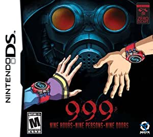 Zero Escape, Vol. 1: 999- Nine Hours, Nine Persons, Nine Doors  - Nintendo DS Standard Edition