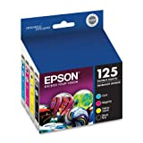 Epson 125 Ink Cartridge Combo Pack (T125120-BCS)