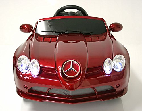 Original Mercedes Slr722 with License New Generation 2.4 Ghz Remote Control 3 Speeds 1/4 Scale Rc Sport Classic Roadster Car for Sale Kids Electric Ride on Toy with Two Motors Mp3 Connection Electric Toys for Children