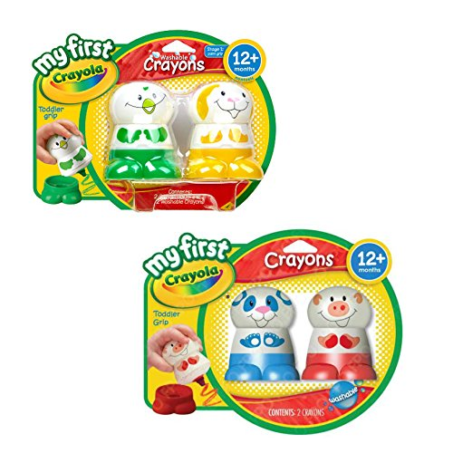 My First Crayola Crayons Pack of 4 Characters