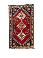 Navaei & Co. Alfombra Persian Shiraz Rojo/Multicolor 164 x 84 cm