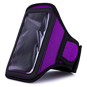 VangoddyTM Athlete's Choice Purple Neoprene Workout Armband