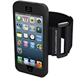 Mediabridge Sport Armband for iPhone 4 / iPhone 4S - Includes Front and Back Screen Protector (Black)