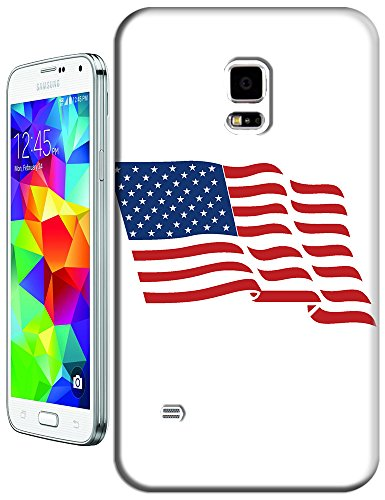 Sangu The American Flag Flutter Hard Tpu Samsung Galaxy S5 Case