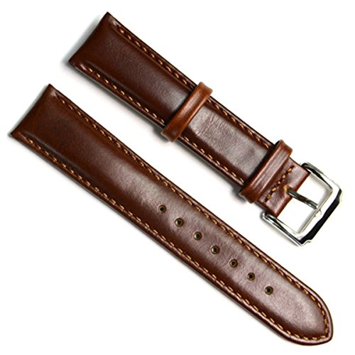 green-olive-19mm-handmade-vintage-replacement-leather-watch-strap-watch-band-oil-wax-leather-coffee