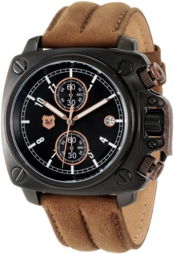 Andrew Marc  Watches best price: Andrew Marc Men's A10101TP Heritage Cargo 3 Hand Chronograph Watch