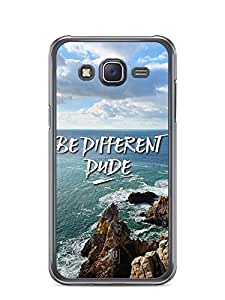 YuBingo Be Different Dude Designer Mobile Case Back Cover for Samsung Galaxy J5