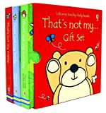 Fiona Watt That's not My 3 Books Collection Gift Set (Usborne Touchy-Feely Books) (That's not my teddy..., That's not my puppy.., That's not my monkey...)