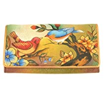 Anuschka 1095 Wallet,Two For Joy,One Size