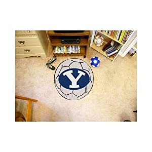 Fanmats Brigham Young Cougars Soccer Ball-Shaped Mats by Fanmats