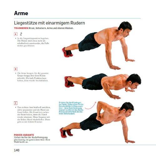 Das Men's Health Muskelaufbau ohne Geräte