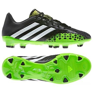 Adidas Men's Predator Absolion LZ TRX FG Soccer Cleats-Black/Green-12