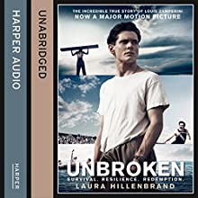 Unbroken (       UNABRIDGED) by Laura Hillenbrand Narrated by Edward Herrmann
