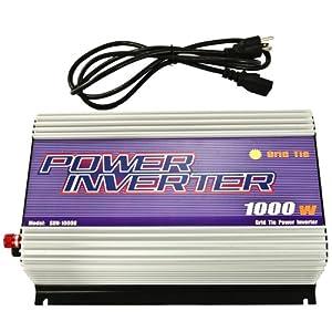 iMeshbean® 1000W 1000 watt Small Grid Tie Solar Inverter Pure Sine-wave Solar Panel System MPPT CE USA Seller