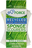 Ecoforce Non Scratch Sponge Scourer (Pack of 10)