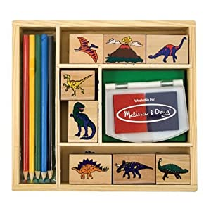 Melissa &amp; Doug Dinosaur Stamp Set