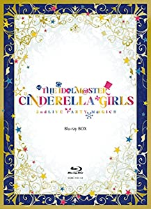THE IDOLM@STER CINDERELLA GIRLS 2ndLIVE PARTY M@GIC!! Blu-ray BOX Blu-ray 3枚組(本編2枚、特典ディスク1枚) 【完全限定生産】