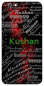 Kushan (Hindu Boy) Name & Sign Printed All over customize & Personalized!! Protective back cover for your Smart Phone : Moto G-4-Plus
