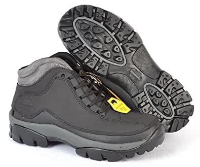 groundwork gr386 lightweight black steel toe cap safety