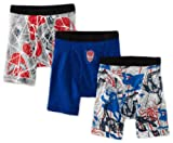 Spiderman 4 Movie Boxer Briefs 3-Pack for Boys (4-8 Years)