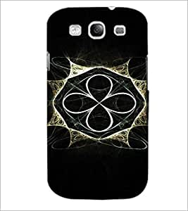 PrintDhaba Abstract Design D-3294 Back Case Cover for SAMSUNG GALAXY S3 (Multi-Coloured)