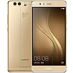 MoArmouz Go - Huawei P9 Lite Clear Glass by MoArmouz® - 9H Hardness Screen Guard / Curved Edge Screen Guard Premium Tempered Glass Screen Protector - Mobile Accessories / Screen Protectors HD Clear Tempered Glass Screen Protector