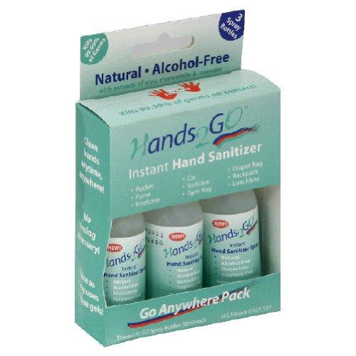 Hands2Go, Soap Foaming Sanitizer 3P, 3-Ounce