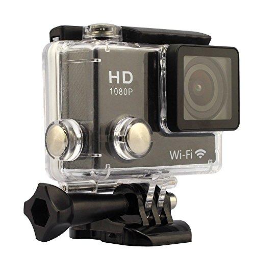 GeekPro® 12MP 2.0 inch WIFI Full HD 1080P Sports Camera Black