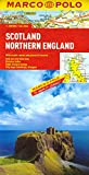 MARCO POLO Karte Schottland, England Nord