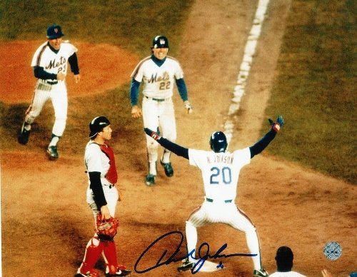 Howard Johnson New York Mets Autographed/Hand Signed 8x10 Photo at Amazon.com