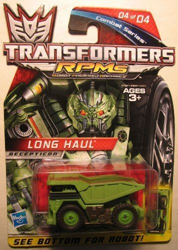 Transformers RPMS Combat series - 04 Long Haul (green) - 1