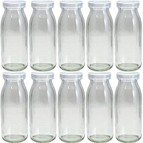 M-200 牛乳瓶200ml -10本セット-