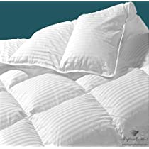 320TC Canadian White Goose Down Comforter: Standard Fill,45 oz
