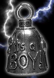 It\'s a Boy Guardian Biker Bell