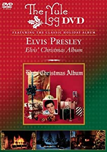 Elvis Christmas The Yule Log Dvd by Sony Legacy