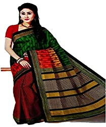 Fashion Crunch Lifestyle Multicolored Saree for Women(PSES2008_Multi-Colored)