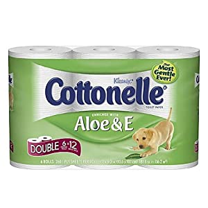 Cottonelle Toilet Paper with Aloe & Vitamin E 6 ea