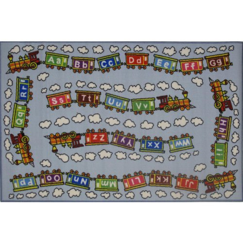 ABC's Train Area Rug 39