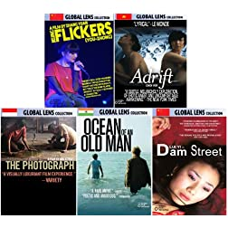 Global Lens - The Best of World Cinema - Volume 8: Asia - 5 DVD Collector's Edition