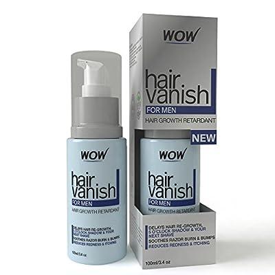 WOW Hair Vanish For Men - Best Hair Retardant - 100ml / 3.4oz - Hair Removal For Men