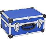 Allround tool box High-quality (aluminium / wood / rubber) case tools, measuring devices, cassettes, CD's, laptops, coins 10106