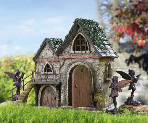Your own fairy garden Make your own toad house